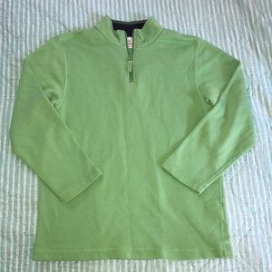 Hanna Andersson lime green sweater